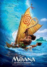 Plakat filmu Vaiana - skarb oceanu