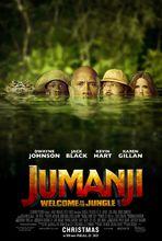 Plakat filmu Jumanji: Przygoda w dżungli