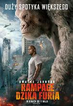 Plakat filmu Rampage: Dzika furia