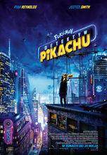 Movie poster Pokemon Detektyw Pikachu